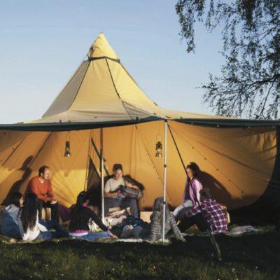 Pour vos soirées, des tentes ouverts sur la nature