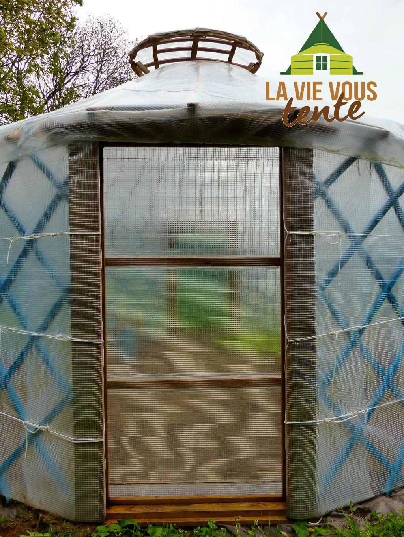 Galerie des serres yourtes la vie vous tente for Porte yourte