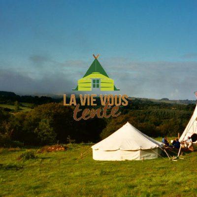 Nos premières tentes, il y 20 ans.