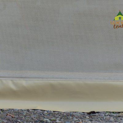 bavette PVC en partie basse