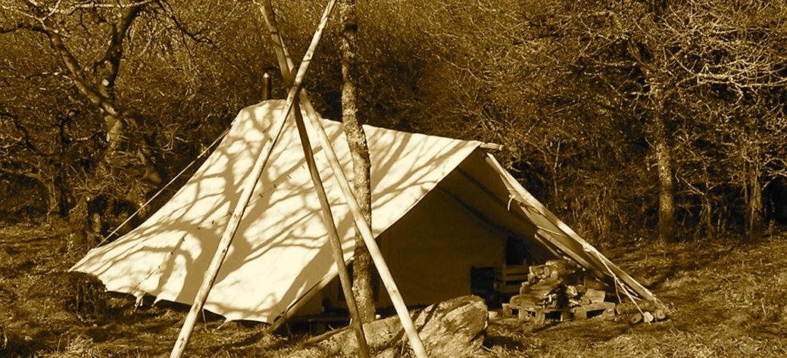 Evadez vous dans une tente  traditionnelle.