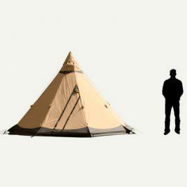 tente 5 places Tentipi LA VIE VOUS TENTE