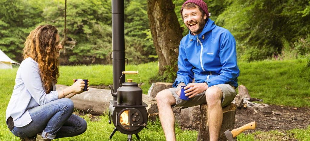 Des poêles portatifs pour votre yourte, votre tente....et pour vos pique-niques !