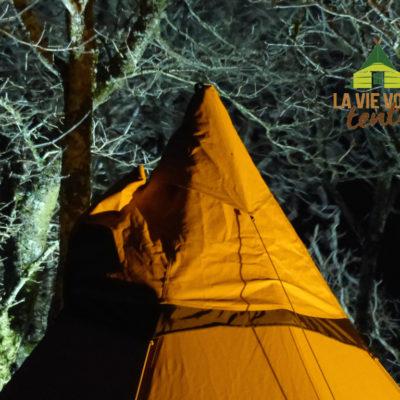 Auvent de ventilation et système In-Tent Vent