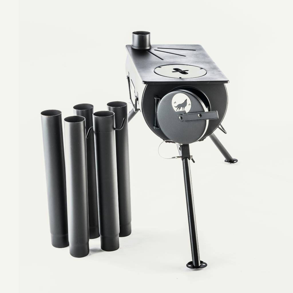 Frontier stove avec tubes de fumée LA VIE VOUS TENTE