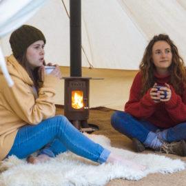 camping poêle traveller LA VIE VOUS TENTE