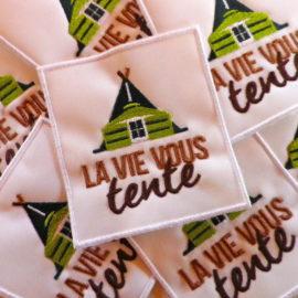 logos multiples boutique LA VIE VOUS TENTE