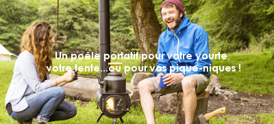 poêle portatif camping pique nique LA VIE VOUS TENTE