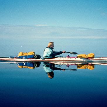 En kayak de mer ou en canoë avec Tentipi®