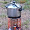 poêle-horizon stove- grosse gamelle-lavievoustente